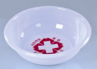 Hospital Essential Plastic basin disposable white basin white basin tub