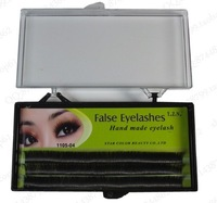 EXTENSION EYELASH Black False Lashes 0.12 D Curl 8/10/12mm Fack Eyelashes 1105