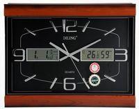 Brief large screen wall clock mute quartz wall clock calendar