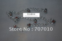 Skull chrome aluminum alloy chain 1 meters long