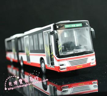 Olympic bus alloy car bus model car toy car model bus model