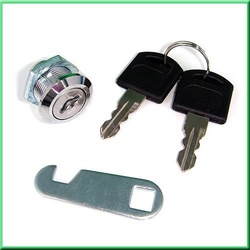 Door Shop Cabinet Mailbox Drawer Cupboard Security Cam Chest Lock Camlock 2 Keys[010227](China (Mainland))
