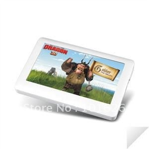 "4.3"" INCH 4GB SLIM MP3 MP4 MP5 Player PLAYER MUSIC VIDEO RADIO HD BLACK WHITE PLOYER(China (Mainland))"