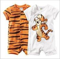 Tiger Baby romper Boy's One-Piece romper short sleeve Tigger romper