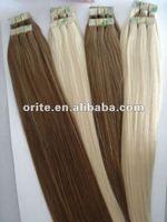 Hot selling wholesale low price 100% Brazilian vrigin human hair  fashion keratin tape hair extension