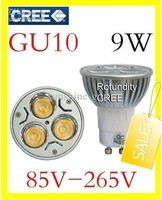 10x GU10  9W CREE High power LED Spot Light Bulb Spotlight  110v 220v 240v