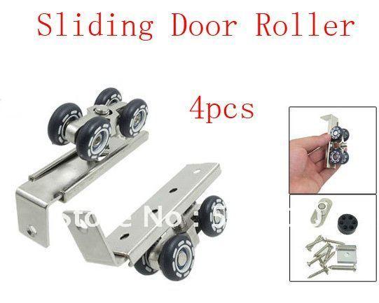 Closet Door Rollers Door Rollers 4 Pcs(china