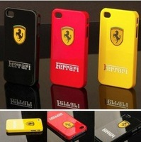 For iPhone 4 4s Car Logo Case Back Cover Case with Retail Box