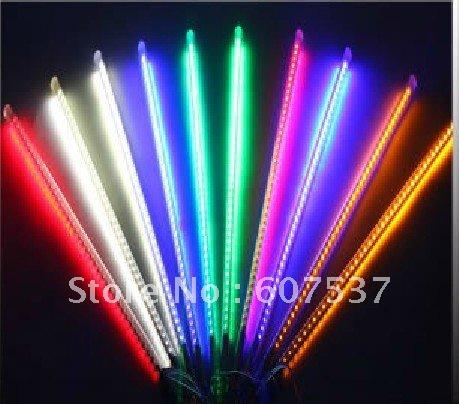50cm 72 LED christmas meteor rain tube light,led running light tube 10tube/set(China (Mainland))