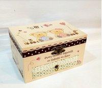 Delicate jewel case jewel boxs gift box christmas gift birthday gift Cartoon bear 240