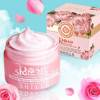 AUTHENTIC SHILLS Damascus Rose Essential Whitening And Repair Night Cream 50ML Free Shipping