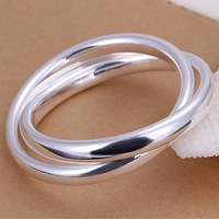 Promotion.Free Shipping 925 Sterling Silver Jewelry.Wholesale Beautiful Fashion Bracelet B150