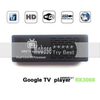 59.97$ Newest Mini PC RK3066 MK808 MK802 III HDD Player Dual Core IPTV Set Top Box/Sticker,HDMI Out+1.6GHZ,1GB/8GB Nandflash