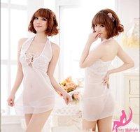Сексуальная ночная сорочка Sexy lingerie, underwear women sexy, transparent bud silk pajamas, uniforms, underwear, kimono # M6147-1