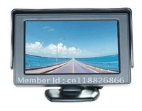 "4.3"" TFT LCD Car Monitor Rearview with LED backlight display for Camera DVD VCR Backup Color"