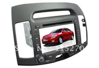 Intelligent Car DVD Player For Hyundai Elantra HDC with GPS, IPOD, Bluetooth, High definition screen