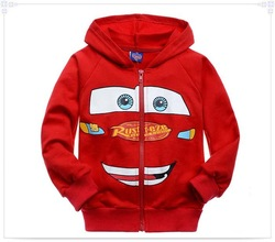 Wholesale hot 2012 New style children boy best gift Cartoon red car children&#39;s clothing baby Long sleeve clothes +free shipping(China (Mainland))