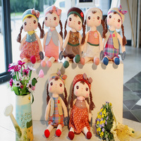1pcs 40CM Cute Dolls Girls Angela Metoo Stuffed Animals Plush Toys Angela Doll for Children best Gifts for kids, Free shipping