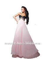 hot sale sexy sweetheart beade chiffon wedding dress