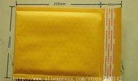Free shipping 165 x225 + 40 mm 100pcs Kraft paper bubble envelope bag bubble envelopes bubble bag F13