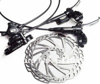 New TEKTRO Auriga comp hydraulic disc brakes with disc disc mountain bike oil sets For Free