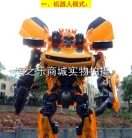 Fast shipping transforming robots Optimus Prime kid's chidren's toy car Bumblebee