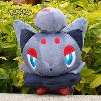 """Pokemon Plush Toy Zorua 6.5"""" Soft Stuffed Animal Doll Kid Gift"""