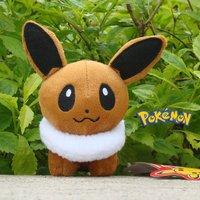 "Eevee 5"" Nintendo Game Collectible Toy Cute Doll Pokemon Plush Stuffed Animal"