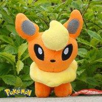 "5""  Pokemon Plush Stuffed Animal FlareonNintendo Game Cute Toy Soft Doll"