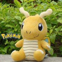 "Pokemon Plush Stuffed Animal Dragonite 7"" Nintendo Collectible Toy Cute Doll"