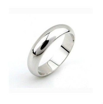 Wholesale New arrival fashion Jewelry vacuum plated 24K white gold Women's Ring Super price !Free Shipping JZR3