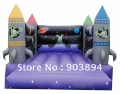 Commercial PVC Inflatable Rocket Bouncer For Sale