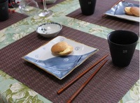 Кухонная салфетка fashion fabric dining table mat./Cloud Placemats Insulation Plate bowl pad/ felt Mats & Pads innovative items Christmas gift