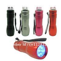 Free shipping   MINI NAIL LED LAMP Flashlight NAIL ART UV LAMPMix color(0.9W )