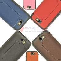 10Pcs/lot  Mixed Color New Stand Leather Hard Case Front Cover for Samsung Galaxy Note 2 II N7100