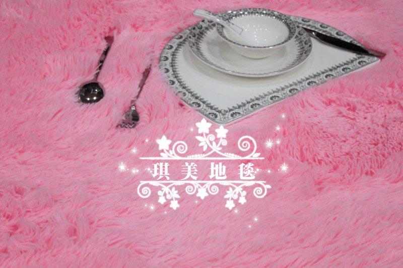 CA10202 mat estilo japonês tapete cor-de-rosa de 40 x 60cm 3 centímetros do cabelo comprimento de 3 peças / lote tapete macio tapete anti-derrapante piso artesanal tapete(China (Mainland))