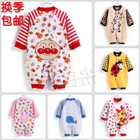 Baby clothes 100% cotton newborn underwear baby bodysuit romper spring and summer 100% cotton