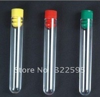 Free shipping plastic 13x105mm test tube packing bottle 100pcs/pack