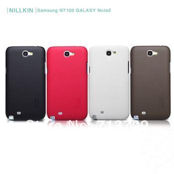 Nillkin Super Shield Shell Case for N7100 GALAXY Note2. Case for GALAXY Note2.N7100 Galaxy Note2 Phone Case.Fr Shp HK pst
