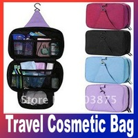 Outdoor hanging travel wash cosmetic bag sorting beauty bags wash make up bag Free Shipping