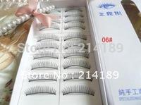 Free Shipping New 10 pairs Natural Short false eyelashes false eyelashes