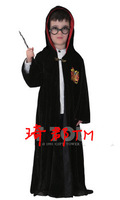 COS masquerade clothing magic school black cloak wizard harry potter robes