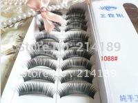 Free Shipping New10 pairs  thick end of eye elongated volume of false eyelashes false eyelashes