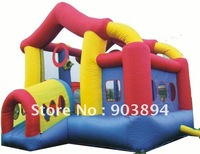 Funny Inflatable Bouncer Jumper Castle Slide For Kids