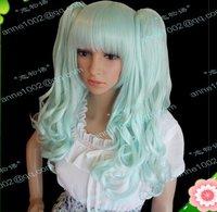 Wig high temperature wire cos gothic lolita wig mint color