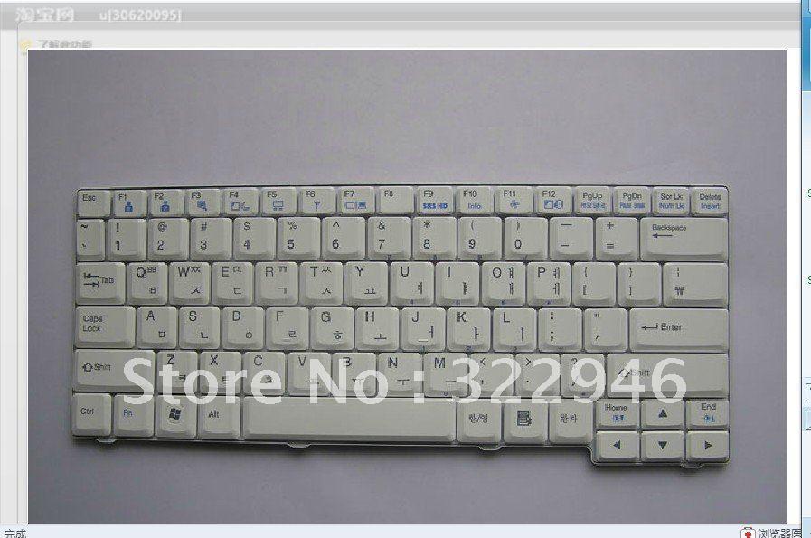 FREEshipping New GoodWorking laptop keyboard for LG Z1 KOREAN(China (Mainland))