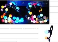 10meter,100LED LED BALL STRING LIGHT and holiday light LED CHRISTMAS LIGHT for decoration (YK -CR-B-100-10-X)