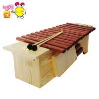 Happy bean orff instruments 13 speaker medianly mahogany violin musical instrument xylophone knock piano violin