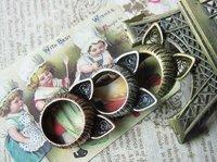 Free Shipping ! 100 PCS/LOT  ring 2012 new The cat ear  elegant Ring #0093