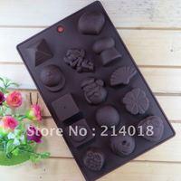 chocolate silicon mold  Cake decoration mold Trojan car bear eggs pattern (CH007)